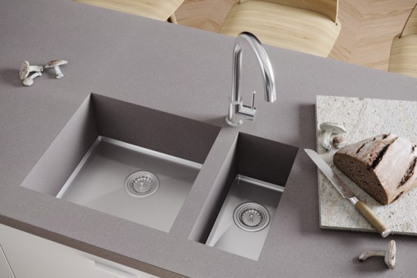 Paloma with Stesso 450 +190 sinks
